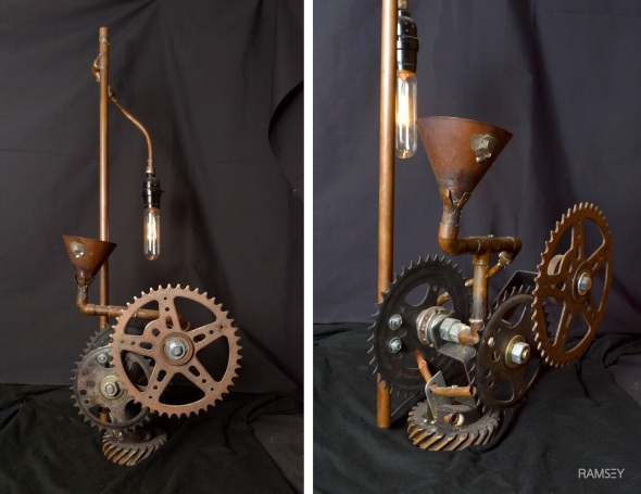 #11 Sprocket Gear Lamp