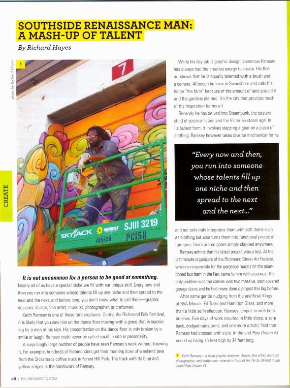 RAMSEY in GRID Magazine